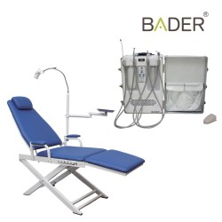 Bader Stretcher and Portable Dental Unit