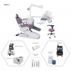 Sillón Dental Flex Up High Pack 2