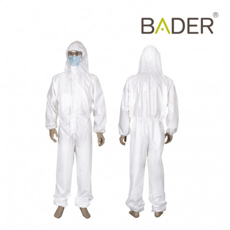Waterproof integral protection gown Bader