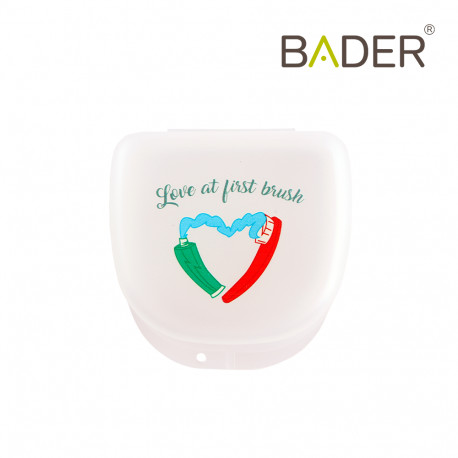 Orthodontic boxes with message