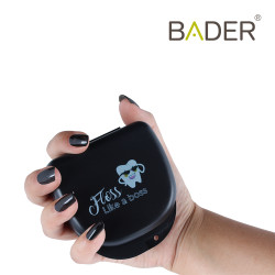 Black orthodontic boxes with message